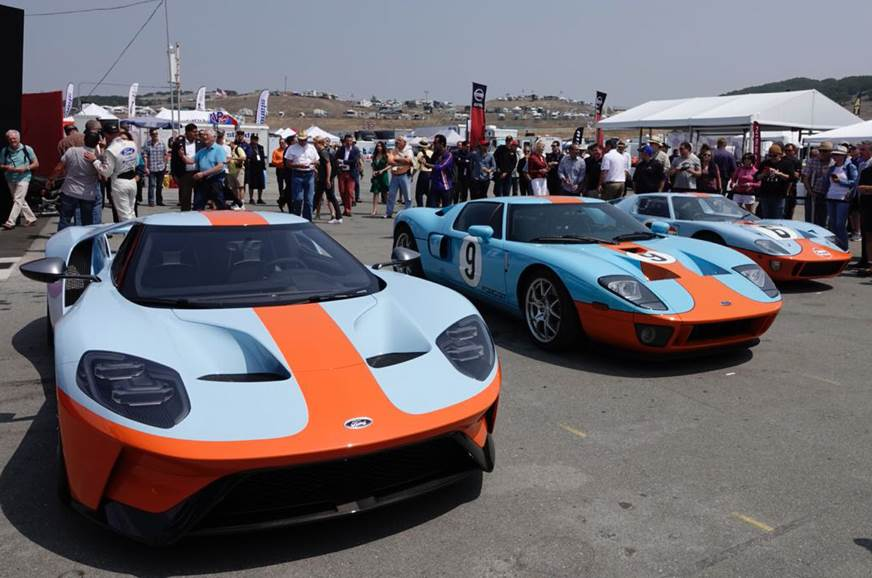 Ford Gt Heritage Edition With Gulf Oil Livery Revealed Granitesuppliers Www Granitesuppliers Info
