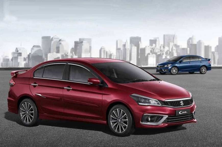 2018 Maruti Suzuki Ciaz Accessories List Revealed Autocar India