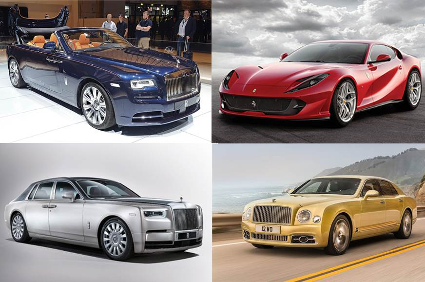 Most Expensive Cars >> 8 Most Expensive Cars On Sale In India Autocar India