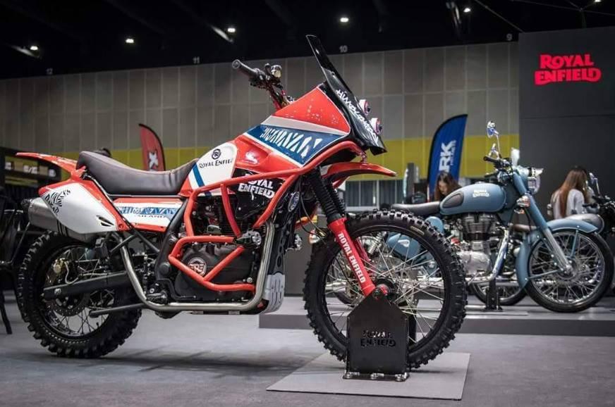 Royal Enfield Himalayan Dakar bike unveiled - Autocar India