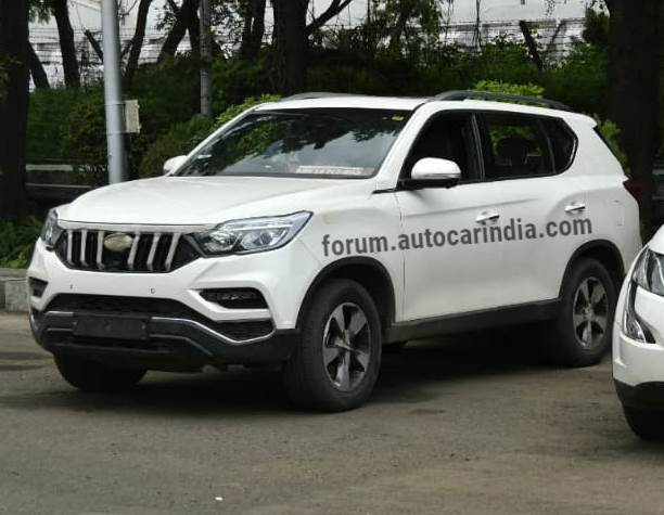 New Mahindra Y400 Xuv700 Rexton Suv Likely To Launch On October