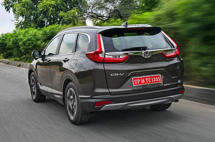 2018 Honda Cr V India Review Test Drive