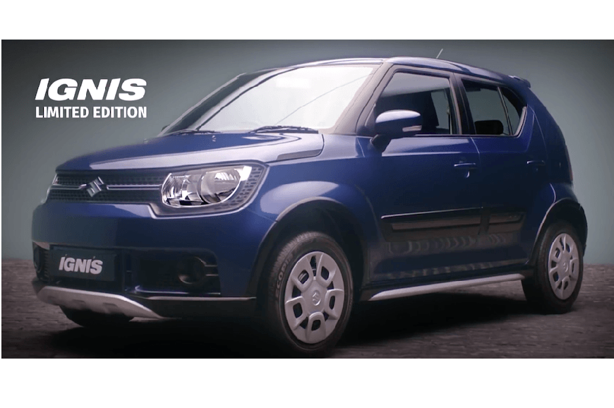 Maruti Suzuki Ignis Limited Edition Launched Autocar India