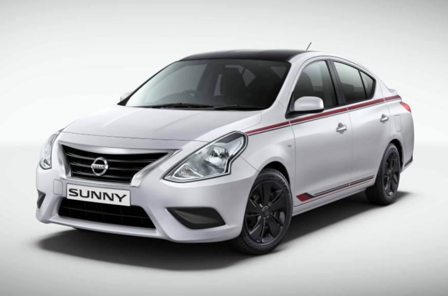 nissan sunny special edition launched  rs  lakh autocar india