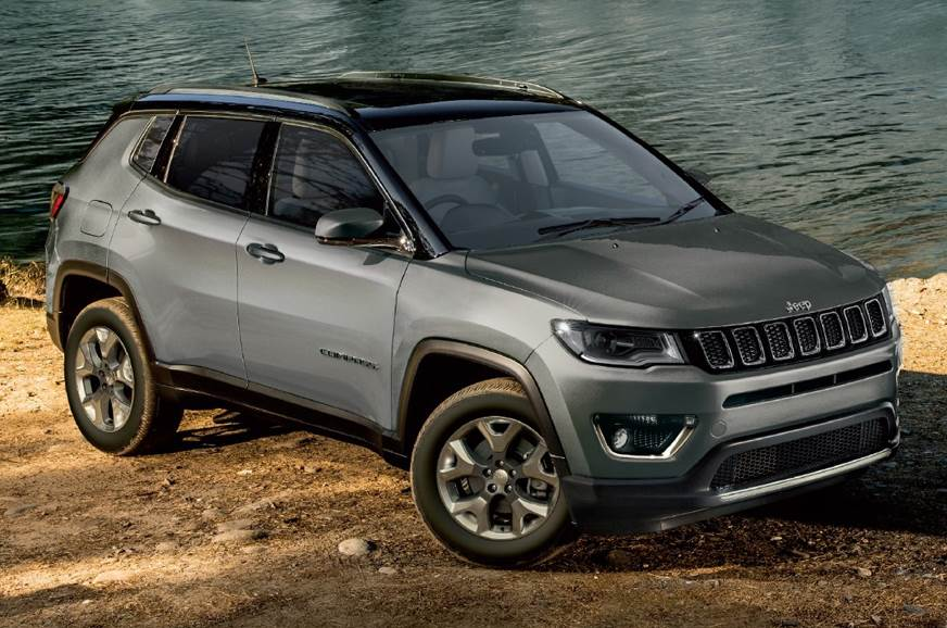 2018 jeep compass limited plus launched at rs 21.07 lakh - autocar india