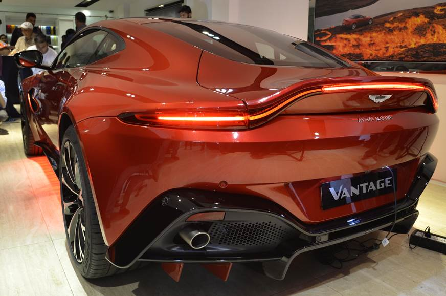 2018 Aston Martin Vantage Launched At Rs 2 95 Crore Autocar India