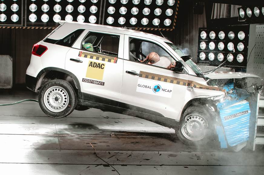 Maruti Vitara Brezza Achieves Four Star Global Ncap Rating Autocar