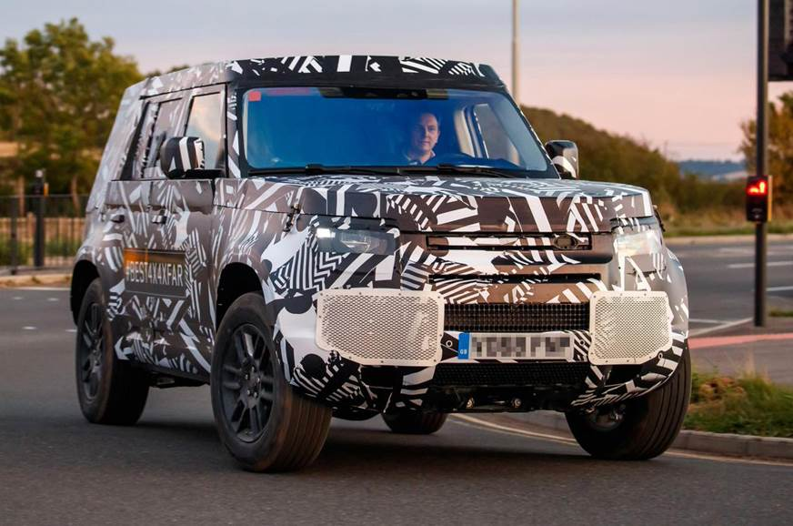Autocar New Defender >> New 2020 Land Rover Defender Spied Testing For The First Time