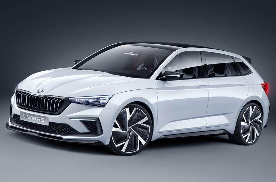 Skoda Vision Rs Concept Previews New Hatchback Autocar India