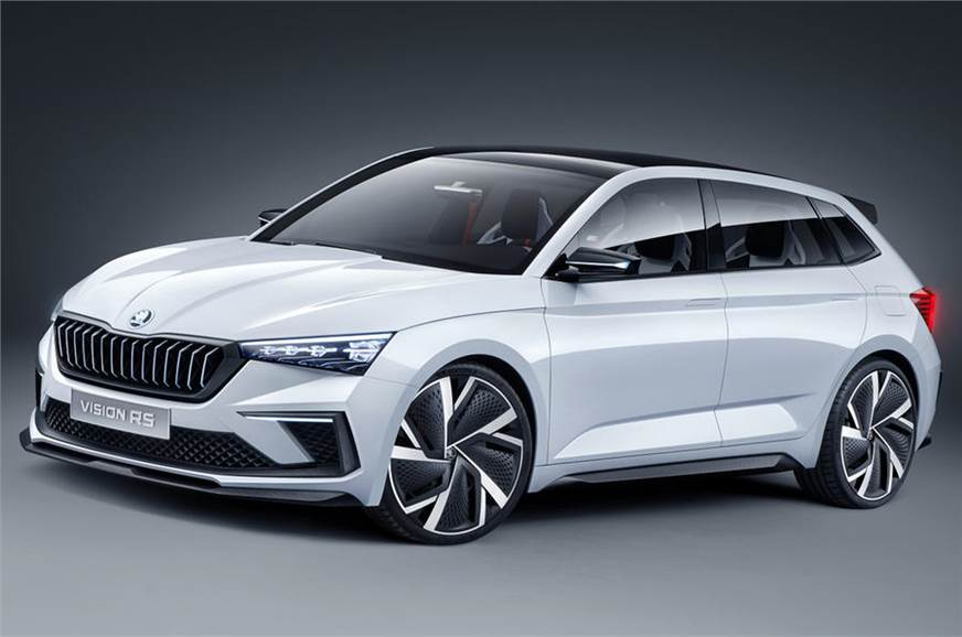 Skoda Vision Rs Concept Previews New Hatchback Autocar India