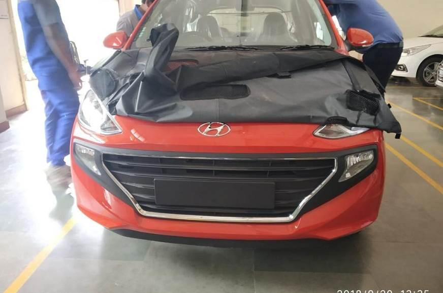 New Hyundai Santro Caught Undisguised Before October 9 Unveil