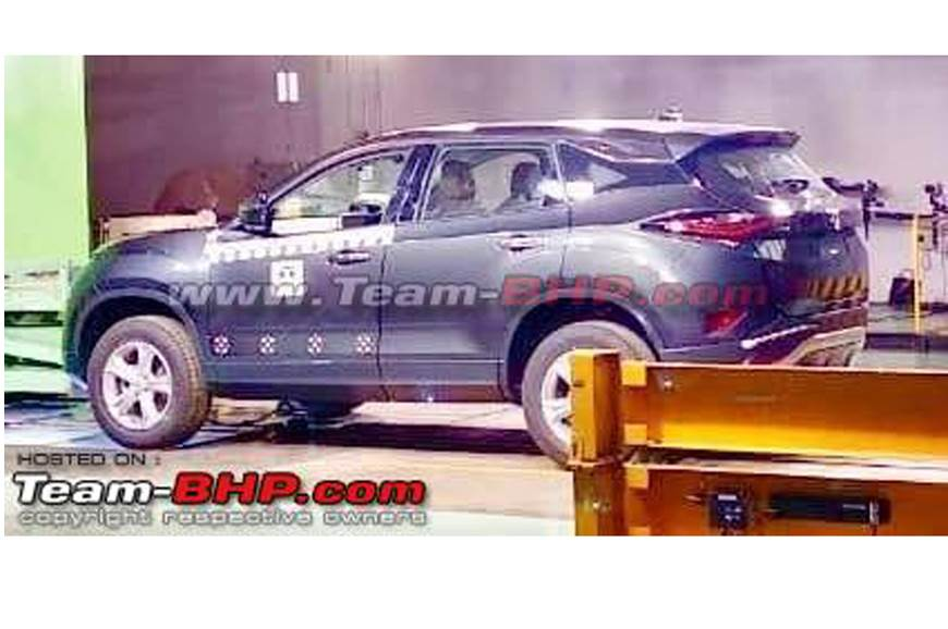 Production Spec Tata Harrier Leaked Ahead Of Official Unveil