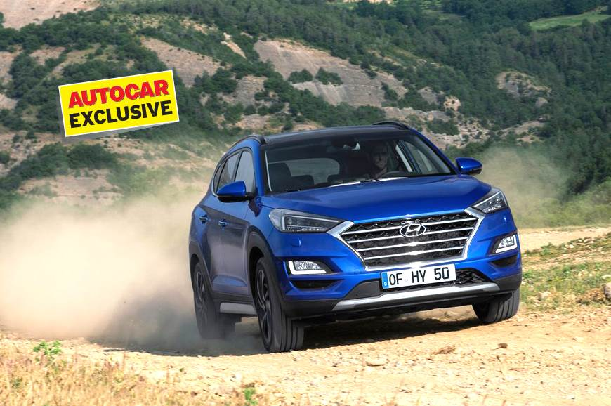 Facelift Hyundai Tucson >> Hyundai Tucson Facelift Coming In May 2019 Autocar India