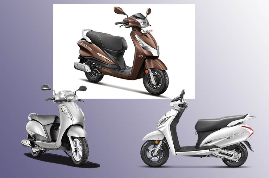 Excellent Suzuki Access 125 And Honda Activa 125 Autocar India Caraccident5 Cool Chair Designs And Ideas Caraccident5Info