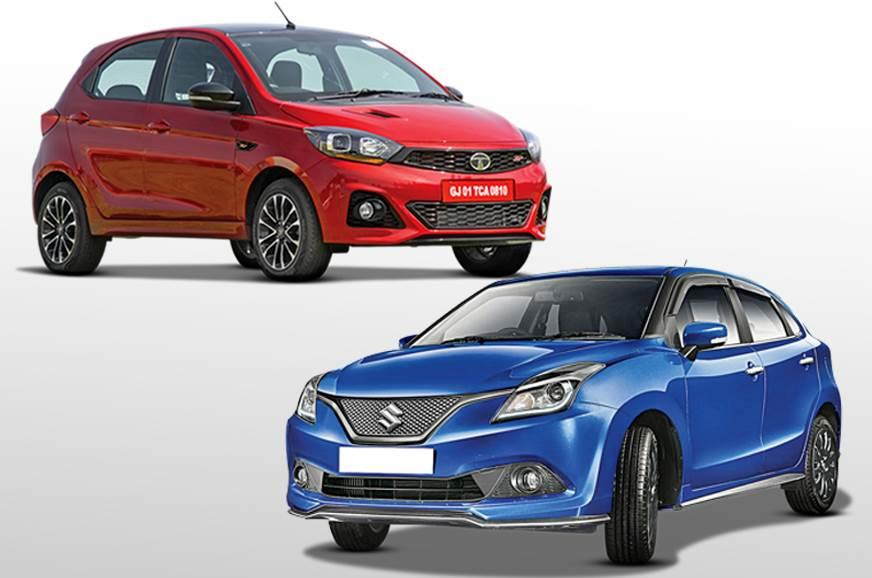 2018 Tata Tiago Jtp Vs Maruti Suzuki Baleno Rs Specifications