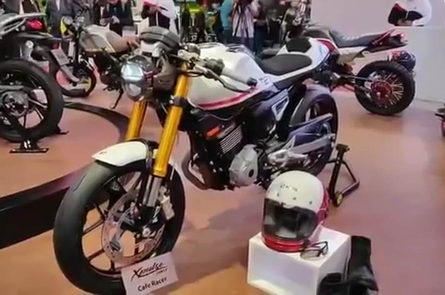 2018 EICMA: Hero showcases four concepts based on the 200T