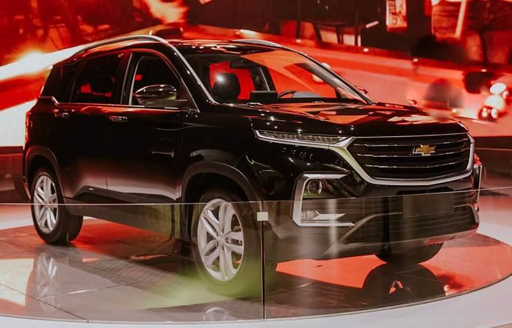 2019 Chevrolet Captiva Suv Unveiled Autocar India