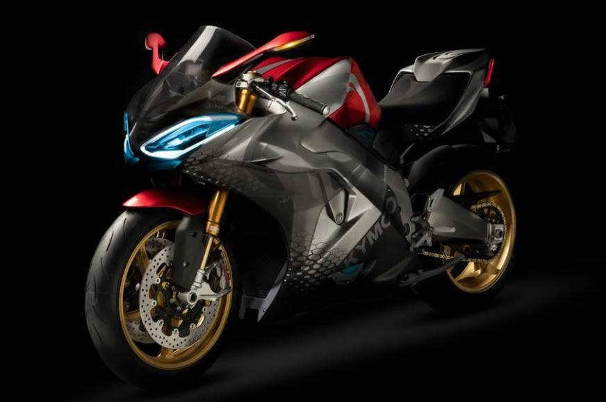 Electric Sports Bike >> Kymco Supernex Electric Sports Bike Autocar India