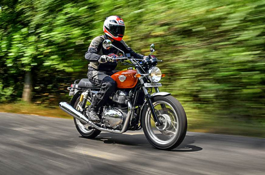 2018 Royal Enfield Interceptor 650 India Review Test Ride Autocar