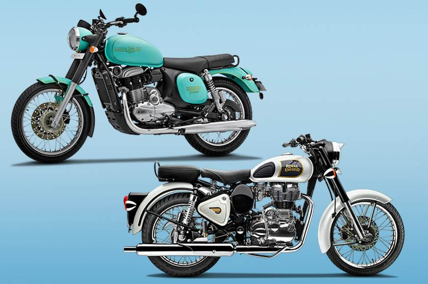 Jawa Forty Two vs Royal Enfield Classic 350: Specifications