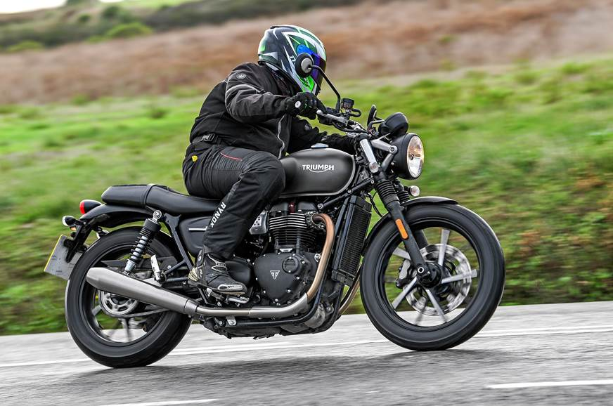 2019 triumph street twin review test ride autocar india. Black Bedroom Furniture Sets. Home Design Ideas