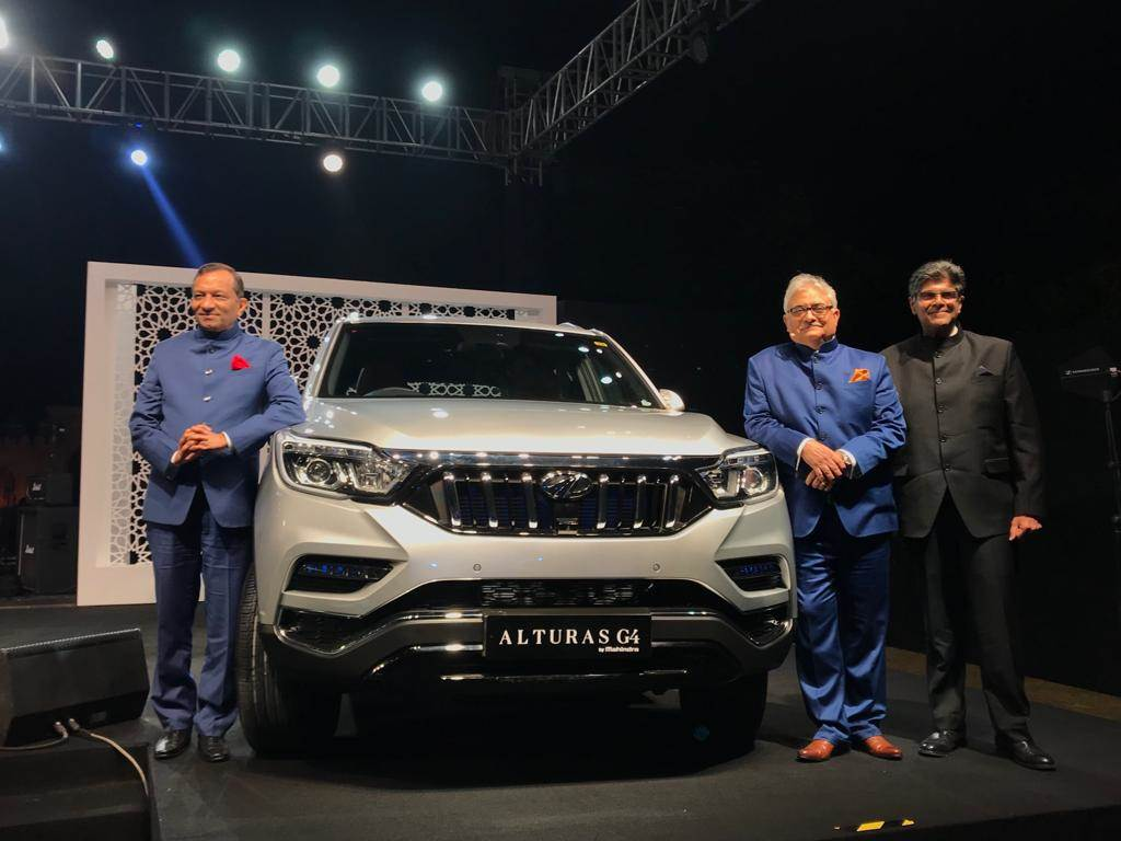 2018 Mahindra Alturas G4 Launched At Rs 26 95 Lakh Autocar India
