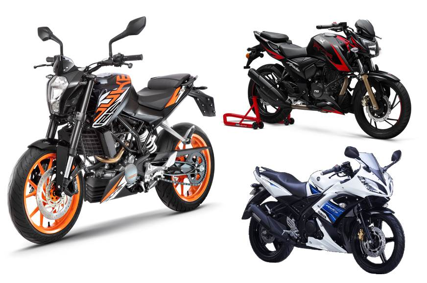 Miraculous Ktm 125 Duke Vs Tvs Apache Rtr 200 Abs Vs Yamaha R15 S Gmtry Best Dining Table And Chair Ideas Images Gmtryco