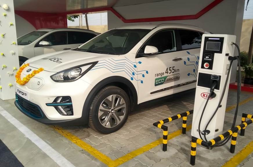Kia Electric Car >> Kia Pushes For Electric Mobility In Andhra Pradesh Autocar