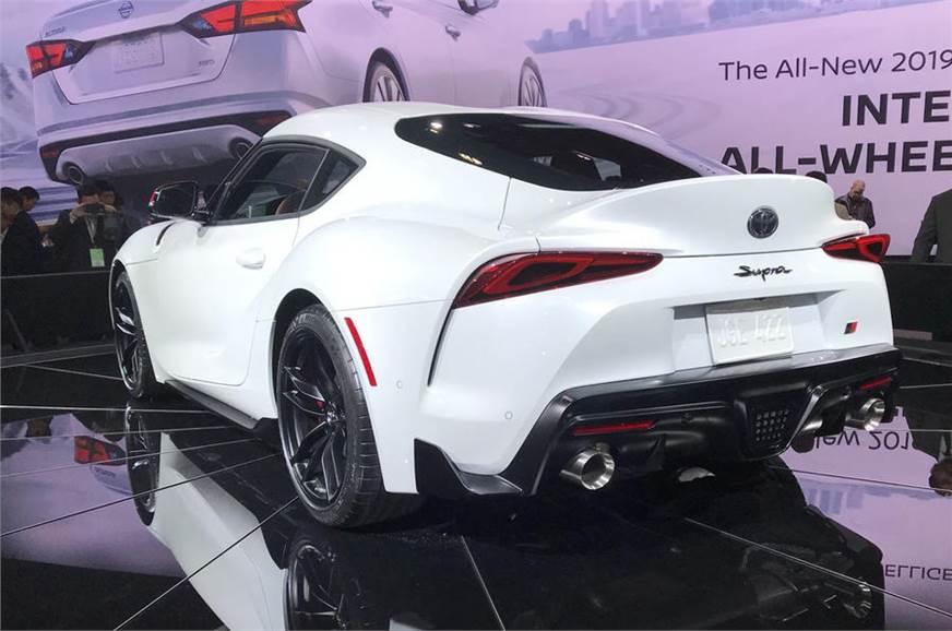 2019 Toyota Supra unveiled at Detroit motor show - Autocar India