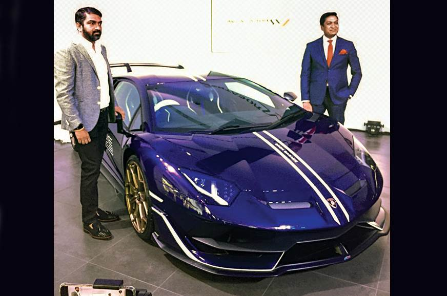 Lamborghini Aventador Svj Launched In India Autocar India
