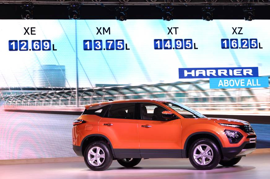 2019 Tata Harrier Launched In India Priced At Rs 12 69 Lakh