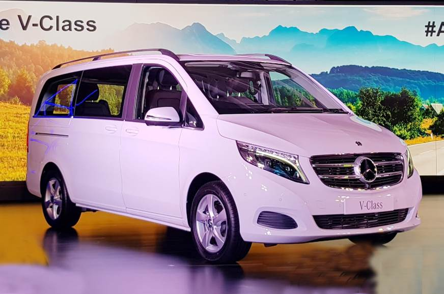 Mercedes V Class >> Mercedes Benz V Class Launched In India Priced At Rs 68 40 Lakh