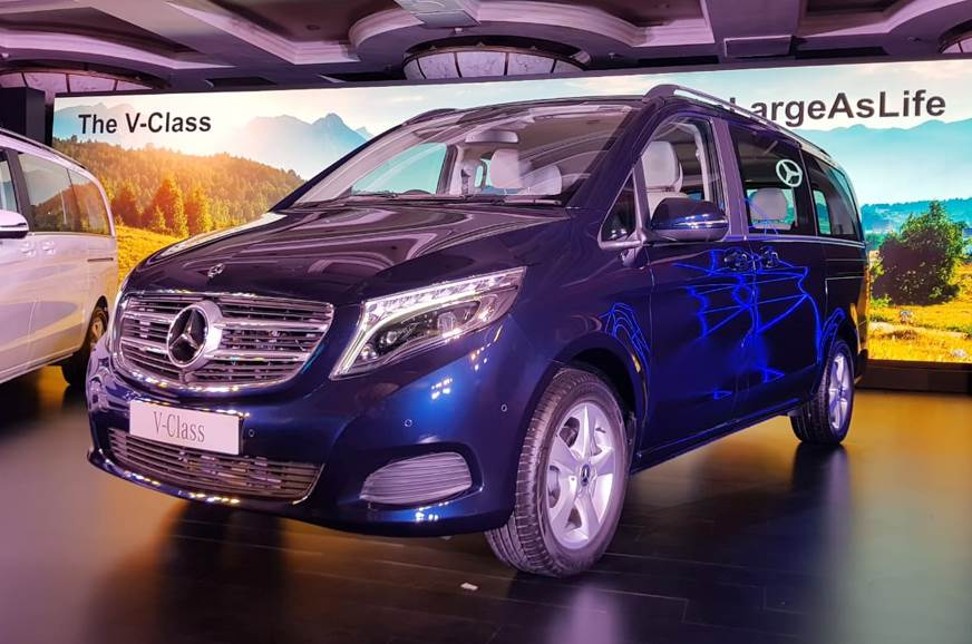 Mercedes-Benz V-class launched in India, priced at Rs 68 40