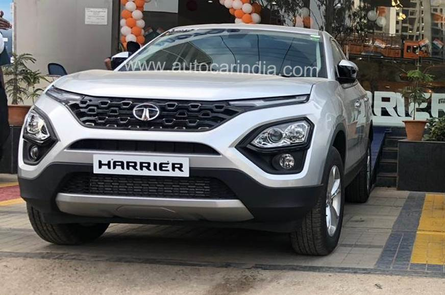 tata harrier accessories revealed