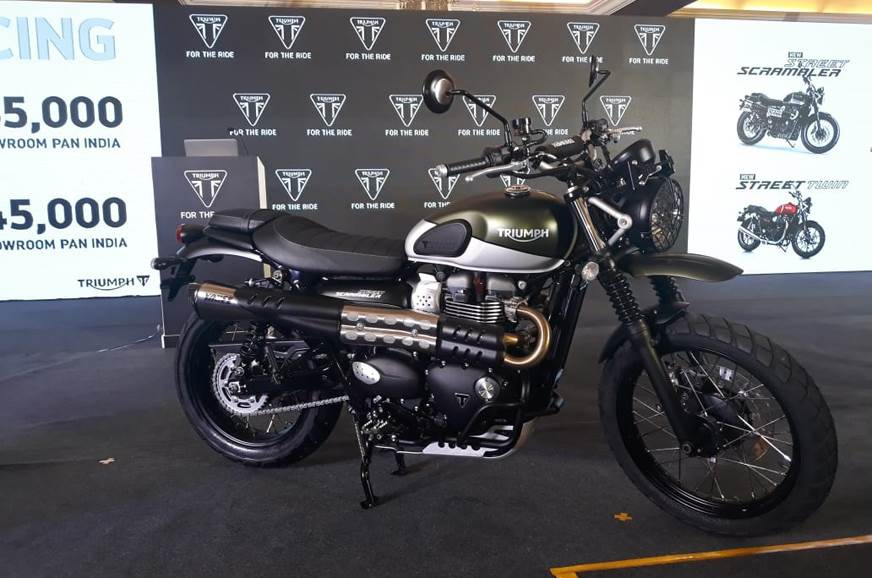 2019 Triumph Street Scrambler Launched At Rs 855 Lakh Autocar India