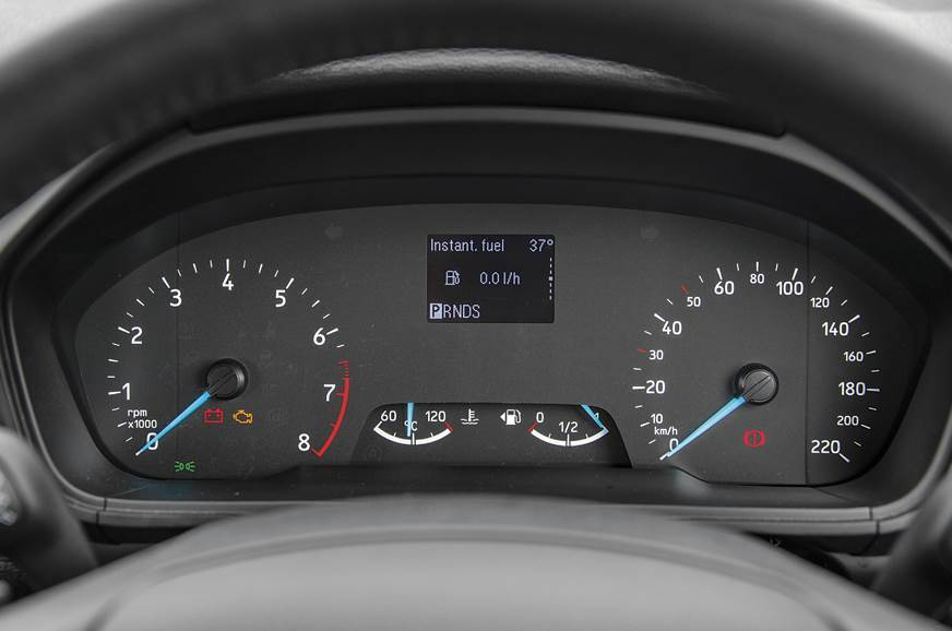 2019 Ford EcoSport gets updated instrument cluster - Autocar India