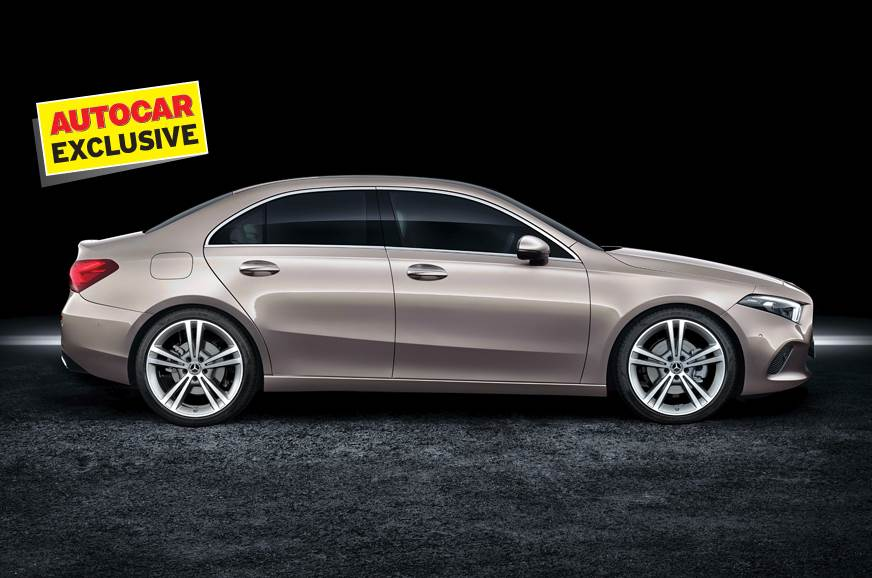 Mercedes Benz A Class Sedan Being Worked On For India