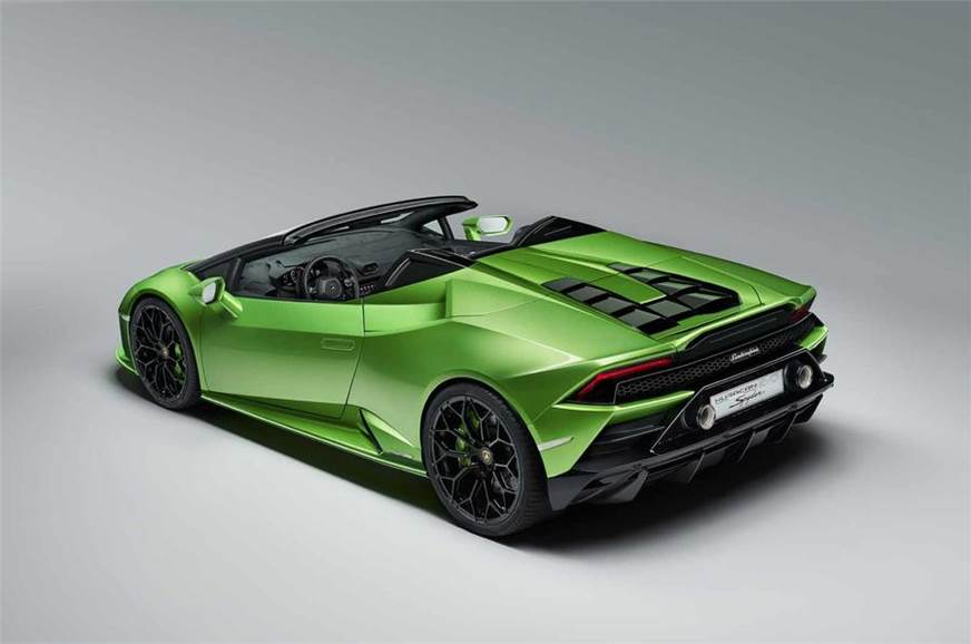 Lamborghini Huracan Evo Spyder Revealed Autocar India