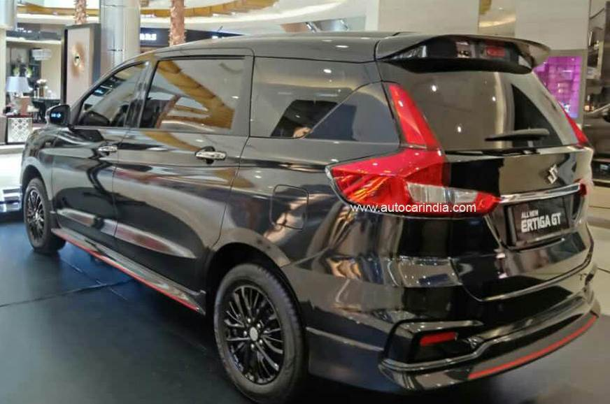 Suzuki Ertiga Gt First Pictures Out Autocar India