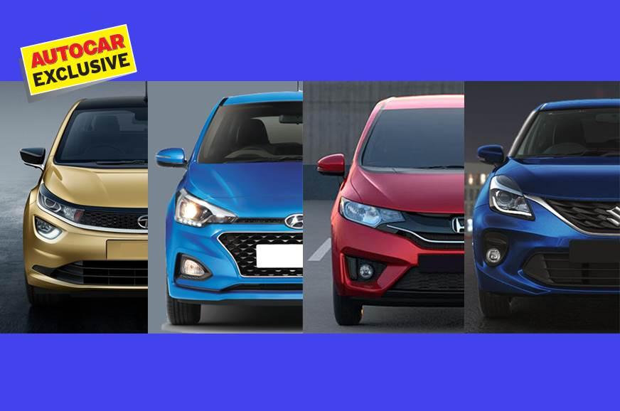 2019 Tata Altroz Vs Maruti Suzuki Baleno Vs Hyundai Elite I20 Vs
