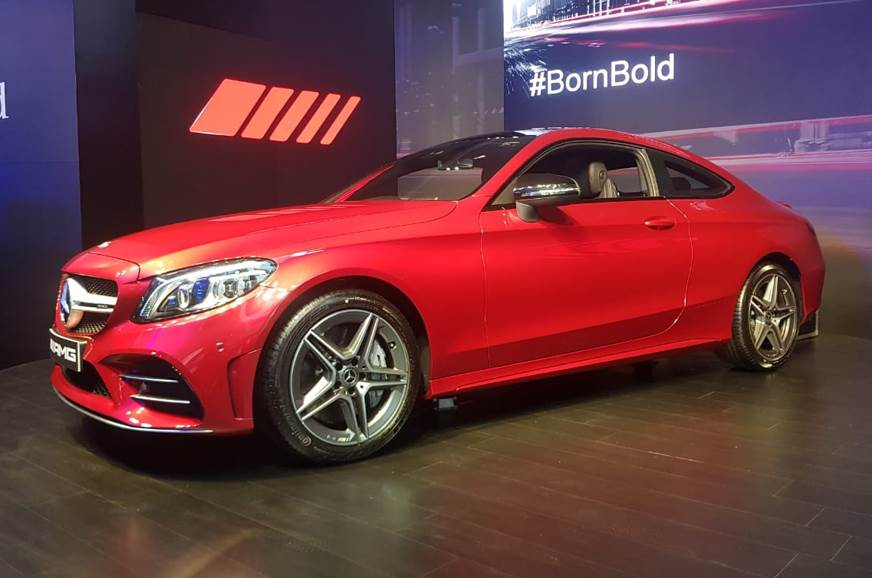 Mercedes-Benz launches 2019 AMG C43 Coupe in India - Autocar