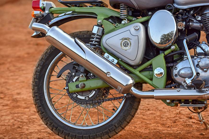 2019 Royal Enfield Bullet Trials Works Replica 500 review