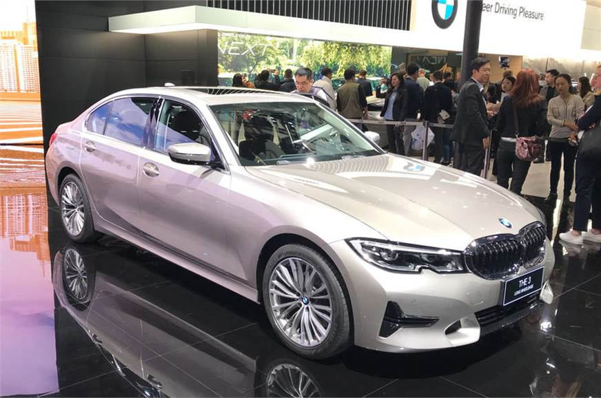 New Bmw 3 Series Lwb Showcased At Auto Shanghai 2019 Autocar India