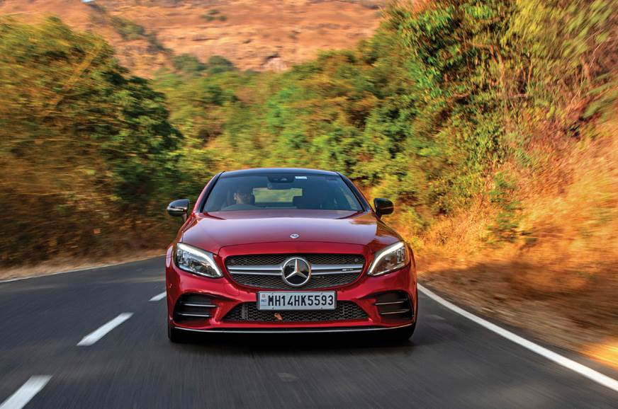 New Mercedes-AMG C43 coupe review - Autocar India