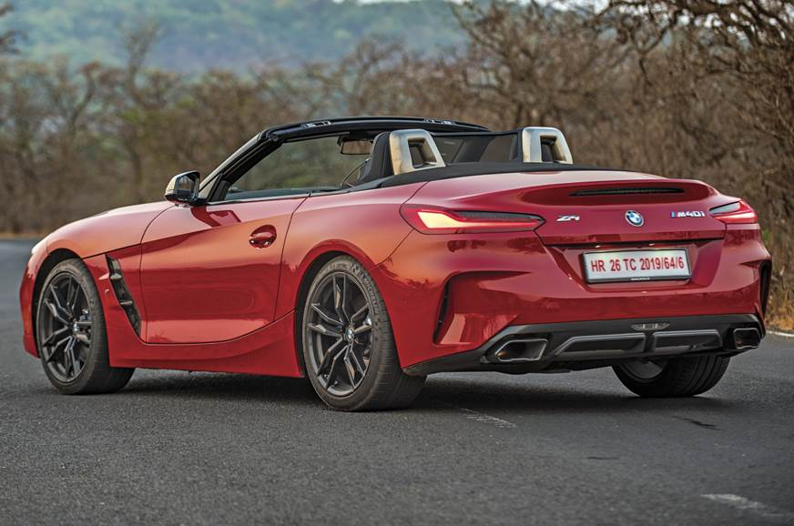 2019 Bmw Z4 M40i Convertible India Review Test Drive Autocar India