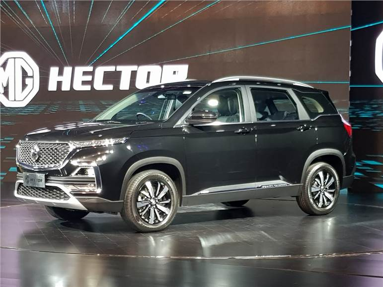 Mg Hector Variants Features Revealed Autocar India