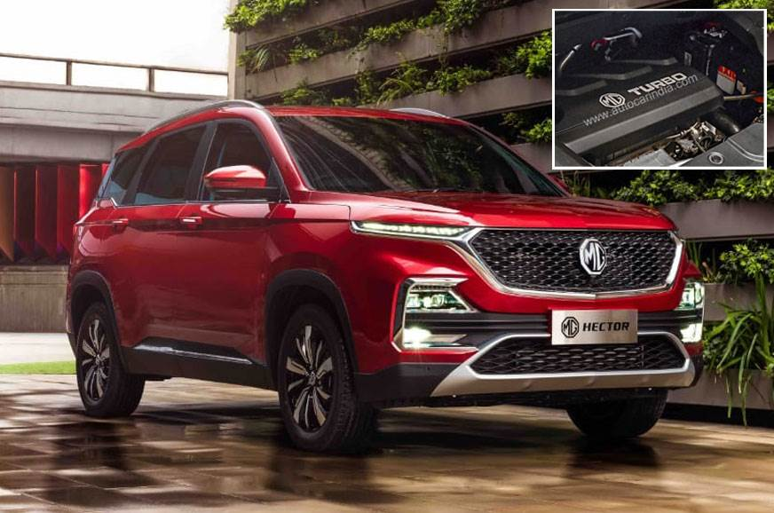 MG Hector petrol, diesel and hybrid engine-gearbox options and