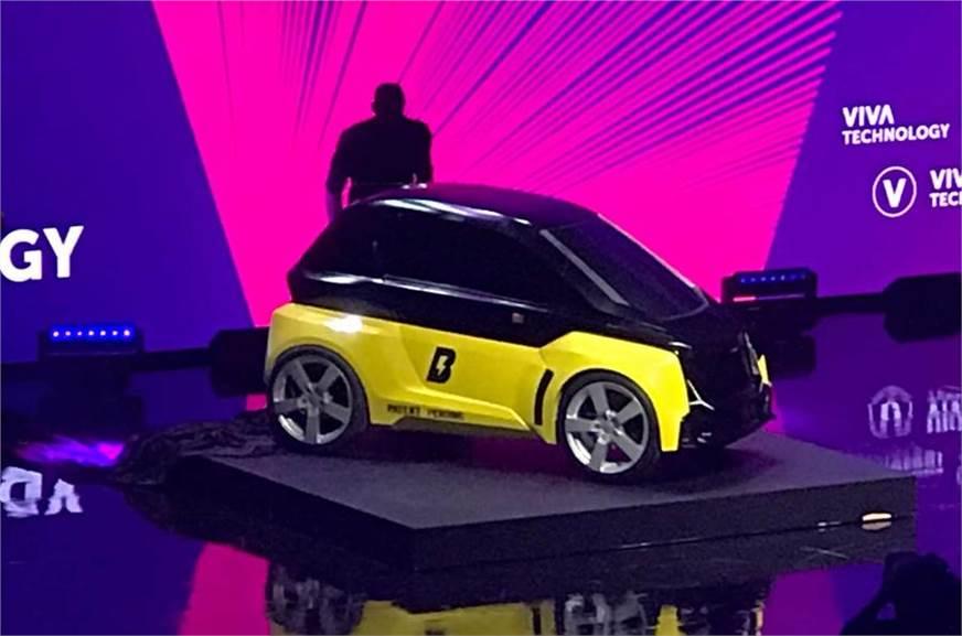 Usain Bolt-backed company reveals two-seat Bolt Nano EV