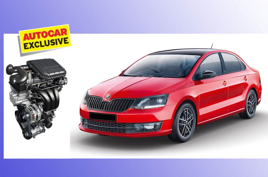 Skoda Rapid to get new 1 0-litre TSI turbo-petrol engine and DSG