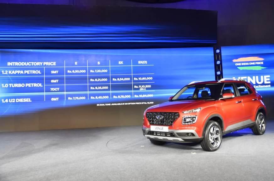 Hyundai Venue variants explained - Autocar India